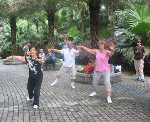 Tai Chi Pekingform in Guilin / VR China